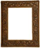Um frame de couro para põr retratos Imagens de Stock Royalty Free