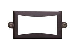 Um frame textured velho do metal imagem de stock royalty free