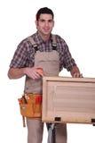 Um funcionamento do carpinteiro Imagens de Stock Royalty Free