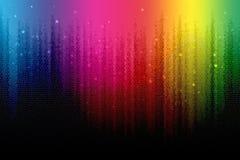 Arco-íris de Digitas ilustração stock