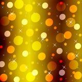 Um fundo abstrato do ouro Imagens de Stock