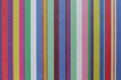 Um fundo com linhas verticais coloridos Fotografia de Stock Royalty Free