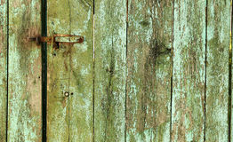 Um fundo da cerca de madeira Foto de Stock Royalty Free