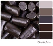 Paleta do Liquorice Imagens de Stock