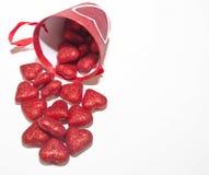 Um fundo do dia do ` s do Valentim com sala para o texto adicionado imagem de stock