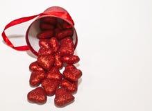 Um fundo do dia do ` s do Valentim com sala para o texto adicionado fotografia de stock