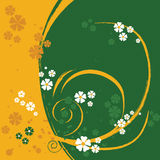 Um fundo do projeto floral Foto de Stock Royalty Free