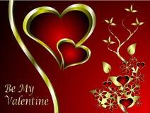 Um fundo dos Valentim Foto de Stock Royalty Free