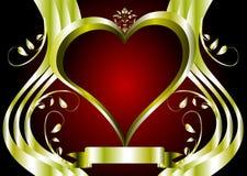 Um fundo dos Valentim Fotos de Stock