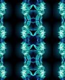 Um fundo geométrico moderno gerado por computador artístico colorido da arte finala dos testes padrões do fractal 3d do sumário ilustração do vetor