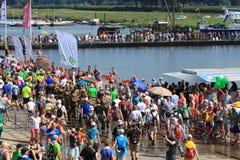 Um grande evento de passeio anualmente de retorno Foto de Stock Royalty Free