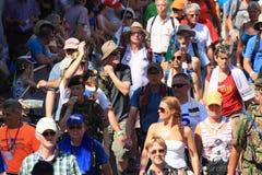 Um grande evento de passeio anualmente de retorno, Fotografia de Stock