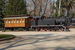 Um grande trem de trabalho velho do vapor Foto de Stock Royalty Free