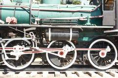 Um grande trem de trabalho velho do vapor Fotos de Stock