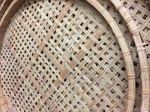 Um grupo de anéis tecidos fundo e texturas imagem de stock