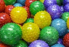 Bolas coloridas Fotografia de Stock
