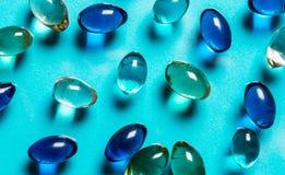 Um grupo de bolas de cristal Fotografia de Stock Royalty Free