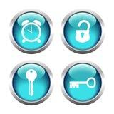 Um grupo de botões Vetor Foto de Stock