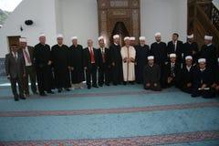 Um grupo de conferentes muçulmanos Fotos de Stock