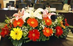 Um grupo de flores Imagens de Stock Royalty Free