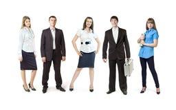 Um grupo de jovens Imagem de Stock Royalty Free