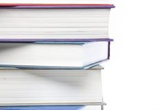 Um grupo de livros Foto de Stock