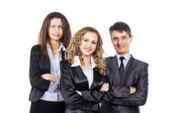 Um grupo de negócio atrativo e bem sucedido, Fotografia de Stock Royalty Free