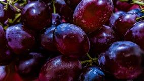 Um grupo de uvas Fotografia de Stock Royalty Free