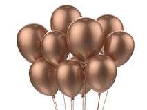 Um grupo dos balões Fotos de Stock Royalty Free