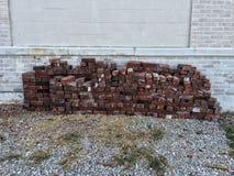 Um grupo dos tijolos Fotografia de Stock