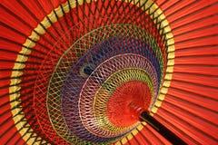 Um guarda-chuva colorido foto de stock royalty free