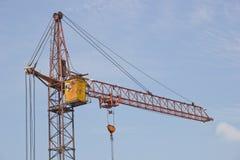 Um guindaste de construção Fotografia de Stock