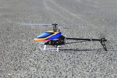 Um helicóptero modelo Foto de Stock