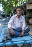 Um homem curdo um Adiyaman no peru Fotografia de Stock Royalty Free