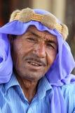 Um homem da descida árabe na vila de Harran em turquia oriental Imagem de Stock