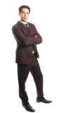 Um homem de negócio imagem de stock royalty free