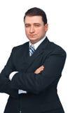 Um homem de negócio bem sucedido foto de stock royalty free