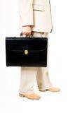 Um homem de negócio em um terno Fotografia de Stock Royalty Free