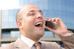 Um homem de negócios imagem de stock royalty free
