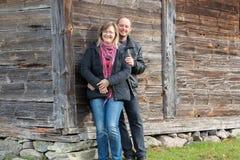 Um homem e uma mulher Foto de Stock Royalty Free