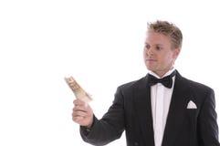 Um homem glamoroso Imagem de Stock Royalty Free
