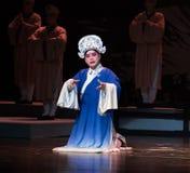 """Um homem novo - registro de sonhos do sul do opera""""four de Ramo-jiangxi do  do linchuan†Fotos de Stock"""
