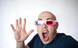 3D assustador Foto de Stock Royalty Free