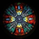 Um indicador de vidro colorido Fotos de Stock Royalty Free