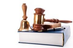 Um inquérito judicial Foto de Stock
