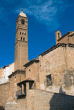 Um inTarazona velho da igreja, Spain Imagem de Stock Royalty Free