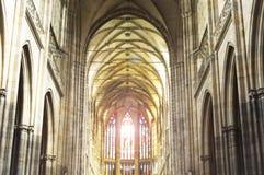 Um interior da igreja Católica, igreja Católica, horisontal, religio Foto de Stock