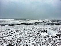Um inverno de Nova Inglaterra Imagem de Stock Royalty Free
