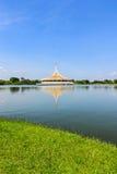 Um jardim público bonito em Banguecoque, Tailândia. fotos de stock royalty free