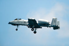 Um jato do ataque de 10 Warthog Foto de Stock